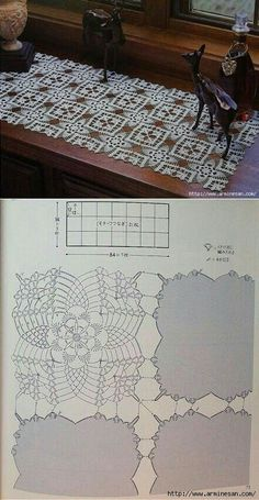 Easter crochet doily lace square placemat tablecloth centerpiece napperon table topper decor wedding unique birthday gift for mothers day Crochet Doily Diagram, Crochet Motifs, Filet Crochet, Crochet Doilies, Crochet Stitches, Diy Crafts Crochet, Crochet Art, Doily Patterns, Crochet Patterns