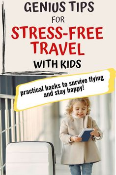 Thinking about traveling with kids? Busy Mommy Inspired shares amazing travel hacks for stress-free flying with children. Ideas for airplane activities tips for toddlers, what your check list should look like, and how to navigate long flights with toddlers. All you need to a stress-free travel and flying with children! #travelwithchildren #flyingwithkids #airplanetipsfortoddlers Toddler Travel, Travel With Kids, Family Vacations, Family Travel, Kids And Parenting, Parenting Hacks, Airplane Activities, Flying With Kids, Spring Break Trips