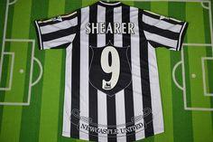 db446b1aba94 Newcastle United F.C. Football club Adidas Home #9 Shearer Classic Rare  Retro Vintage FÚTBOL SOCCER KIT CALCIO SHIRT JERSEY FUSSBALL CAMISA TRIKOT  MAILLOT ...