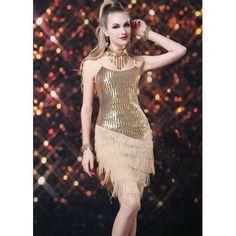 Carnaval 2014 Vestido Bolero Paetê Dourado Franjas Vestido em franja dourado com brilho paetê da Coleção Carnaval 2014. Frete Grátis para todo Brasil. Confira em nossa página! Loja OZIRIS. R$188,30  #carnaval #vestidocarnaval #vestido2014, #vestidofesta #vestidofranja #vestidodourado #vestidobrilho #paete #lojaoziris #moda #franja #modafeminina #verao #brilho #sexy