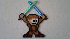 Star Wars - Anakin (Mega Man style) perler beads by Björn Börjesson