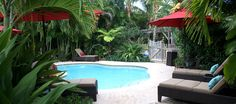 West Palm Beach Fl, 1 of the hotel's 2 heated saltwater pools