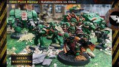 The Salamanders burn their way onto Geeks Youtube channel this evening in our latest 40k battle report #youtube #salamander #salamanders #40k #warhmmer40k #wargaming #gamesworkshop40k #40000 #battlereport #battlereports #geeks #geekswargaming #vulkanstein http://ift.tt/2gvspzT