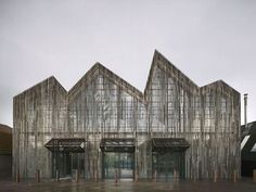 Mecanoo - Maritime and Beachcombers Museum, on the island of Texel, in the Netherlands - http://www.detail-online.com/daily/wooden-performance-kaap-skil-by-mecanoo-nominated-for-wood-architecture-award-2012-7349/