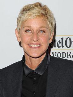 Ellen Degeneres Haircut New 2016