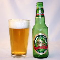Moosehead Lager - Classic to have for the summer.