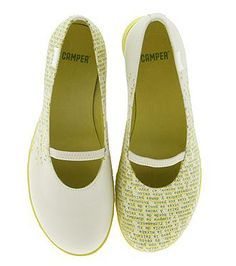 <3 camper twin shoes!