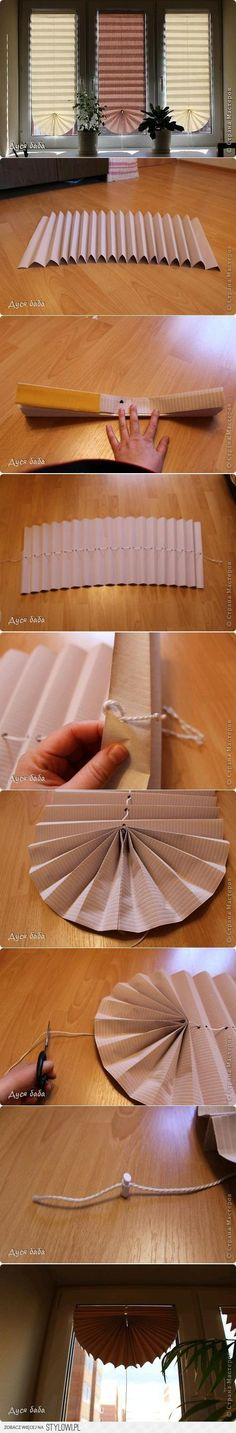 DIY Fan Curtain DIY Projects | UsefulDIY.com na Stylowi.pl