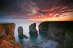 Stack Rocks, Pembrokeshire Coast, Wales