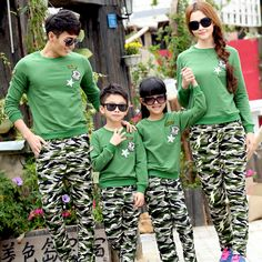 Mother And Daughter Clothes Set For Mom And Daughter Father And Son Shirts Matching Outfits Pants Cotton Family Clothing Sets