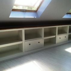 attic built-in, another view