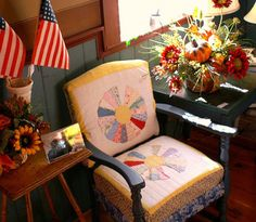 Quilts as Upholstery