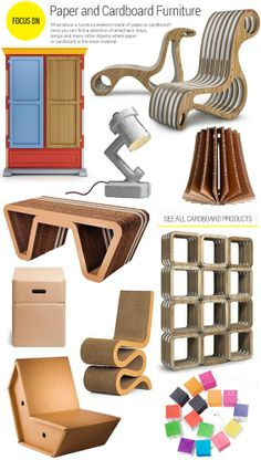 #archiproducts focus 140: #paper and #cardboard furniture www.archiproducts.com/en/focus/570403/focus-140.html