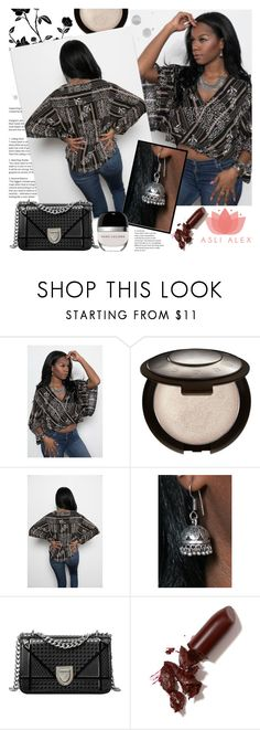 """""""ASLI ALEX"""" by gaby-mil ❤ liked on Polyvore featuring LAQA & Co., Marc Jacobs, boho, necklace, tunic and aslialex"""