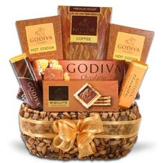 Gift Baskets - Pin it :-) Follow us, CLICK IMAGE TWICE for Pricing and Info . SEE A LARGER SELECTION of gift baskets at http://azgiftideas.com/product-category/gift-baskets/ - gift ideas , gift set -  Godiva Coffee Delights