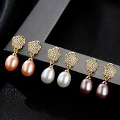 Fine Jewelry Classic Star Stud Earrings Oval Natural Pearl with S925 Silver Brincos for Women Party Bijoux
