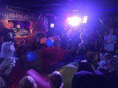 """Last week we headed to myminidisco (a """"baby rave"""") in Brighton's Komedia which was jolly good fun."""