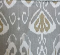 greatly enjoy this fabric also.  Pillows here I come.  $29.50 a yard from Reneesfabrics on Etsy.com
