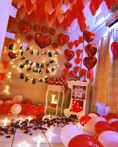 Plan Your Food Plan In Real 'Melonish' Style - My Website 1 Year Anniversary Gifts, Anniversary Surprise, Happy Anniversary, Romantic Room Decoration, Romantic Bedroom Decor, Birthday Room Decorations, Valentines Day Decorations, Romantic Room Surprise, Birthday Surprise For Girlfriend