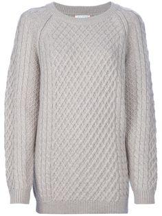 $562 CHINTI AND PARKER 'Aran' Oversize Sweater