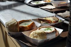 The Style and Travel Journals: San Francisco Food Adventures...Boudin's clam chowder soup on sourdough.