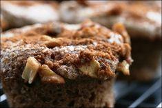 Apple Walnut Crunch Spelt Muffins - Washington D.C. area Registered Dietitian | Recipes + Healthy Living