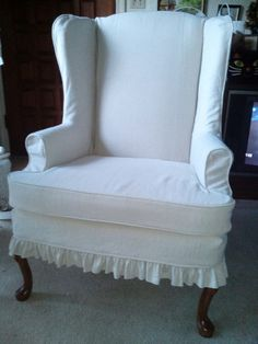 Chici's Cottage Style Custom slipcovers, At The Mill
