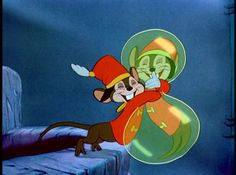 *TIMOTHY Q. MOUSE ~ Dumbo, 1941..... Drunk Timothy, he made my childhood happy