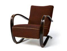 Křeslo: Jindřich Halabala Sofa Chair, Armchair, 1940, Recliner, Lounge, Furniture, Home Decor, Womb Chair, Womb Chair