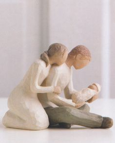 New Life by Willow Tree. I happen to own several of these statues and enjoy giving them as gifts.