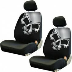 Skull car seat covers ;-)