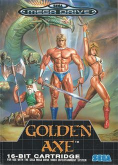 Golden Axe. As an arcade machine it took all my pocket money. As a Mega Drive game it took all my home work hours (and probably a few grades).