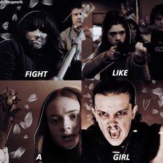 Lucha como una chica!!!