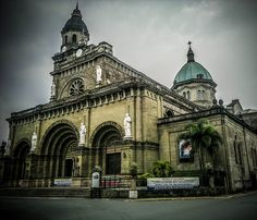 manila cathedral , intramuros , manila , philippines