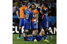 Duele como tantas veces, pero el orgullo late como nunca, Mundial Brasil 2014 FINAL