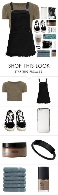 """""""ash"""" by symone-i ❤ liked on Polyvore featuring Topshop, Boohoo, Vans, philosophy, Linum Home Textiles, NARS Cosmetics, snowinseptember5years, gottatagrandomn3ss, philosoqhytags and meanttobetagged"""