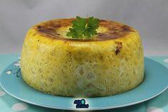 Tortillón XXL Ana Sevilla olla GM Tapas, Gm Olla, Easy Food To Make, Canapes, Baked Potato, Cooker, Delish, Food And Drink, Pudding