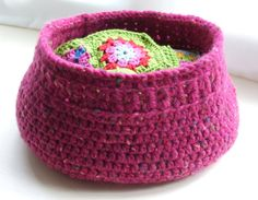 Hey, I found this really awesome Etsy listing at https://www.etsy.com/listing/79494481/crochet-storage-basket-pattern-pdf