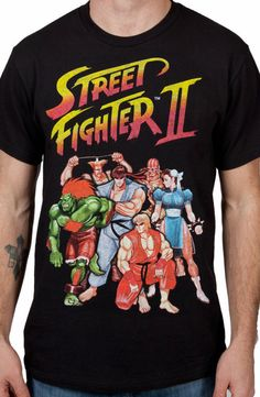Characters Street Fighter II Shirt: Street Fighter Ii Mens T-shirt