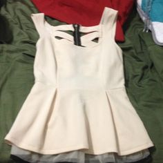 Shirt Brand new, never worn, charlotte russe top. Charlotte Russe Tops