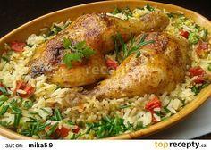 No Salt Recipes, Top Recipes, Chicken Recipes, Cooking Recipes, Healthy Recipes, Good Food, Yummy Food, Czech Recipes, Cooking Light