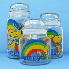 Enjoy a rainbow today with Snoopy! Visit our shop at CollectPeanuts.com for a vintage variety of colorful collectibles featuring the Peanuts gang.