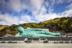 Reclining Buddha of Fukuoka. The Reclining Buddha of Nanzoin Temple in Fukuoka, , Asia Cruise, Reclining Buddha, Harbor City, Fukuoka Japan, Japanese Phrases, Temple, Kyushu, Visit Japan, Buddhist Art