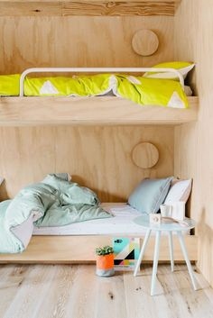 bunk beds in a kids bedroom