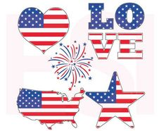 Here we have our Patriotic July 4th Designs. Included in your purchaseare the following files: - SVG File. EPS File. DXF File. This designis delivered as a di