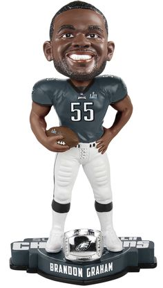 18 Best Philadelphia Eagles Super Bowl LII Champions Bobbleheads ... 4f579a2fe