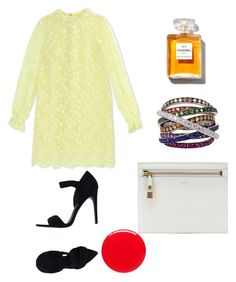 """Untitled #296"" by pillespirit ❤ liked on Polyvore featuring Alexander Wang, Giamba, Tom Ford, Plukka, Chanel and Eve Snow"