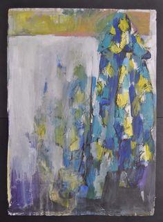 Christiane ten Hoevel Abstrakte Komposition 1986 Gouache