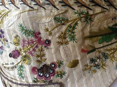 Embroidered waistcoat, 1775-85