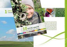 www.ninavirtanen.fi Kannen, taittopohjan ja graafisten elementtien suunnittelu. Etelä-Suomen maa- ja kotitalousnaisten Agrisociale -hanke 2015, 10 SYYTÄ VALITA GREEN CARE -palveluja. https://etela-suomi.proagria.fi/sisalto/10-syyta-valita-green-care-palveluja-4556 #graafinensuunnittelu #graphicdesign #layout